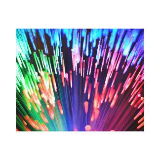 多彩の繊維光学 キャンバスプリント