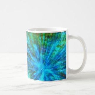多彩抽象的で大きい強打001 コーヒーマグカップ