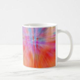 多彩抽象的で大きい強打002 コーヒーマグカップ