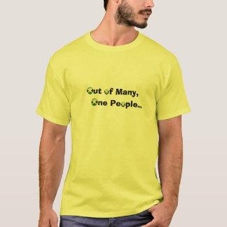 多数からティーにのせて下さい Tシャツ