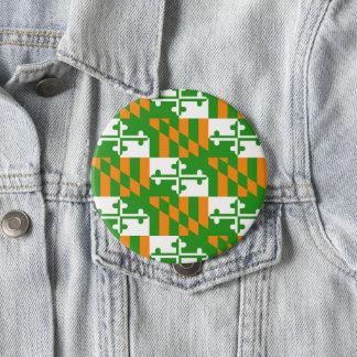 多数のサイズの幸運なメリーランドの旗ボタン 缶バッジ