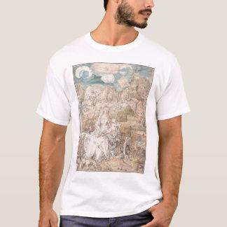 多数のDurer著動物の中のメリー Tシャツ