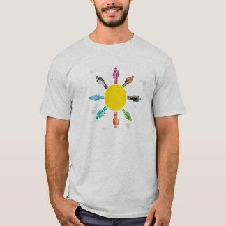 多様性の色 Tシャツ