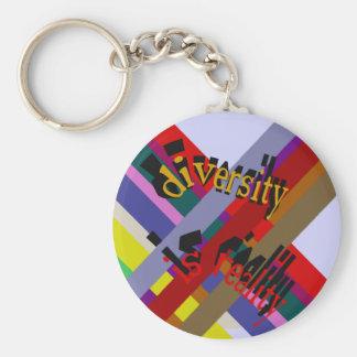 多様性は現実Keychainです キーホルダー