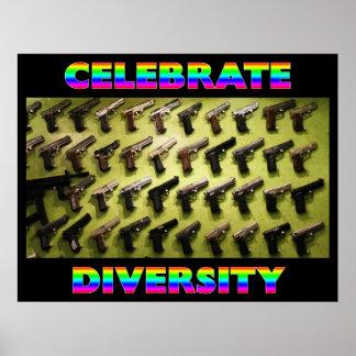 多様性を祝って下さい ポスター