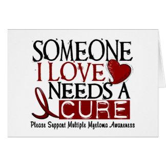 多発性骨髄腫は治療1を必要とします カード