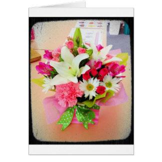 多目的花の文房具 カード
