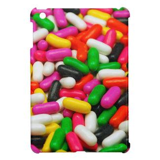 多色のなキャンデーのプリント iPad MINIケース