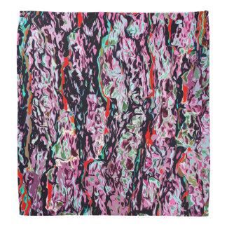 多色刷りの抽象的なパターン バンダナ