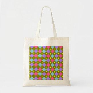 多色刷りの蜜蜂の巣はあなた自身の予算のトートを作成します トートバッグ