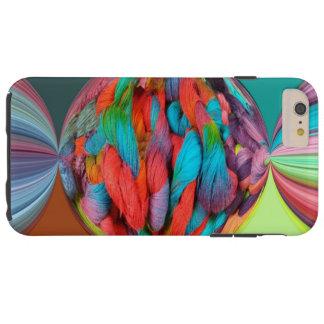 多色刷りヤーンのかせの明るい球 TOUGH iPhone 6 PLUS ケース