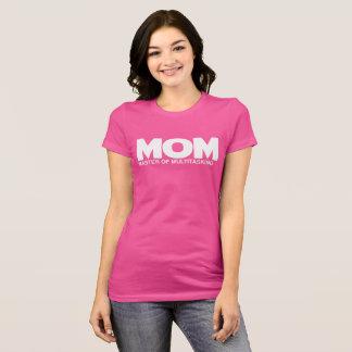 多重タスク処理の母の日のお母さんのマスター Tシャツ