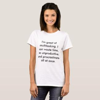 多重タスク処理T Tシャツ