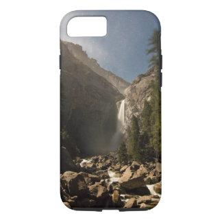 夜にYosemite Fallsを下げて下さい iPhone 8/7ケース