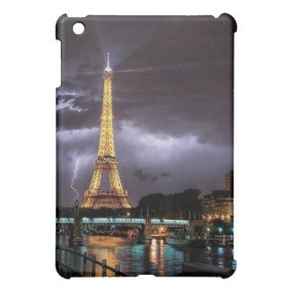「夜のエッフェル塔」iPad Miniケース-マット iPad Miniカバー