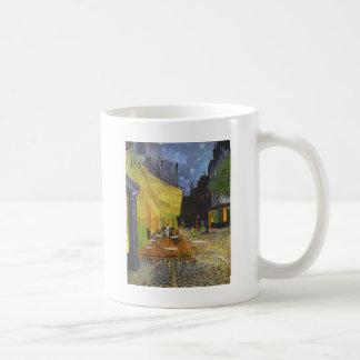 夜のカフェ台地 コーヒーマグカップ