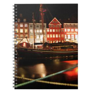 夜のコペンハーゲン ノートブック