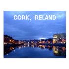 夜のコルク、アイルランド ポストカード
