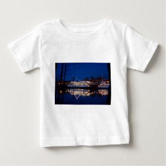 夜のサクラメント、カリフォルニア-デルタ王 ベビーTシャツ