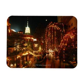 夜のサン・アントニオRiverwalk マグネット