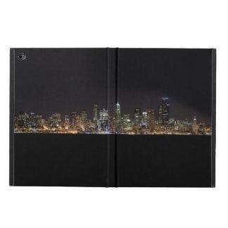 夜のシアトルのスカイライン POWIS iPad AIR 2 ケース