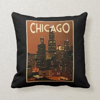 夜のシカゴ クッション