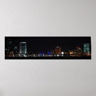 夜のジャクソンビル ポスター