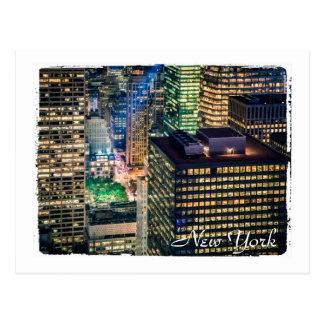 夜のニューヨーク ポストカード