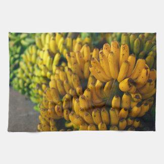 夜のバナナ キッチンタオル