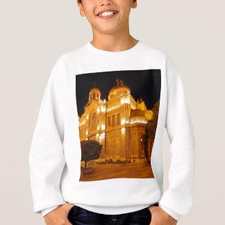 夜のバルナのカテドラル スウェットシャツ