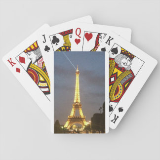 夜のパリ: エッフェル塔 トランプ