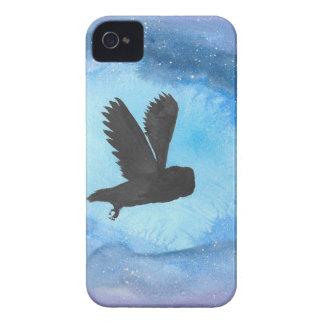 夜のフクロウ Case-Mate iPhone 4 ケース