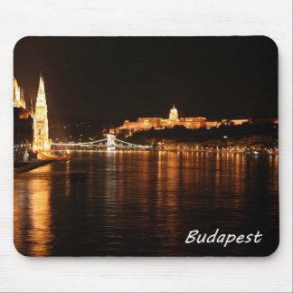 夜のブダペスト マウスパッド