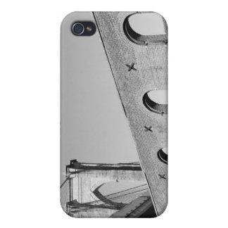 夜のブルックリン橋そしてマンハッタンスカイライン iPhone 4/4Sケース