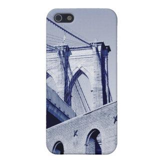 夜のブルックリン橋そしてマンハッタンスカイライン iPhone 5 COVER