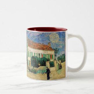 夜のホワイトハウス ツートーンマグカップ