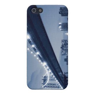 夜のマンハッタン橋、ニューヨークシティ iPhone 5 カバー