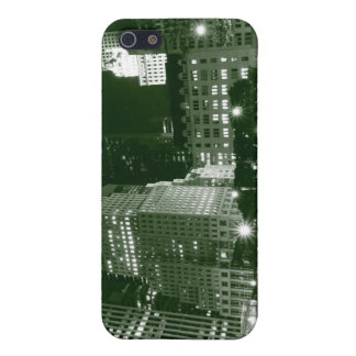 夜のマンハッタン、ニューヨークシティの通り iPhone 5 ケース