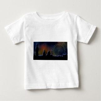 夜のロンドン ベビーTシャツ