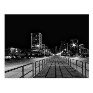 夜の交差の第9通り橋 ポストカード
