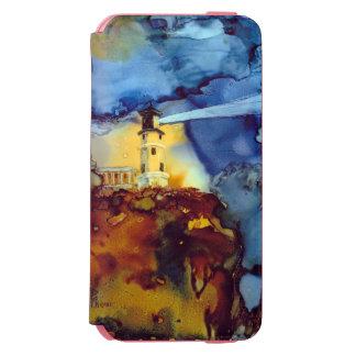夜の割れた石の灯台 INCIPIO WATSON™ iPhone 5 財布型ケース