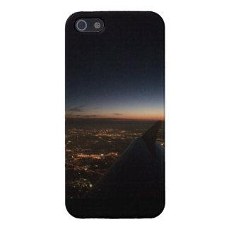 夜の平らな翼 iPhone 5 COVER