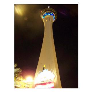 夜の成層圏-ラスベガス ポストカード