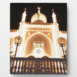 夜の東洋宮殿 フォトプラーク