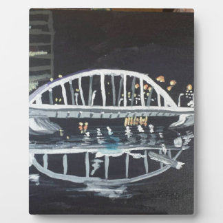 夜の橋 フォトプラーク