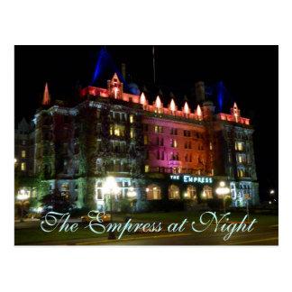 夜の皇后 ポストカード