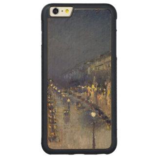 夜の通りMontmartre CarvedメープルiPhone 6 Plusバンパーケース