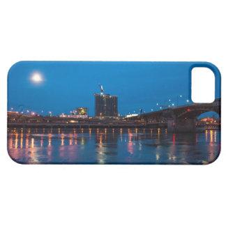 夜のBurnside橋、ポートランド iPhone SE/5/5s ケース