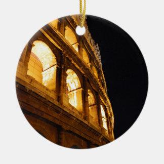 夜のColosseum セラミックオーナメント