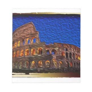 夜のColosseum ノートパッド